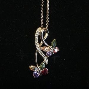 SALE: NWOT Infinity Butterfly Pendent Necklace
